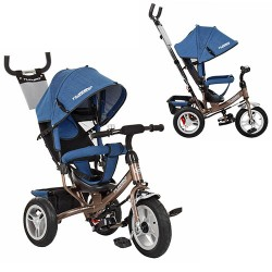 Велосипед Turbo Trike M 3113AJ-13 Jeans Blue Brown