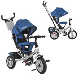 Велосипед Turbo Trike M 3113AJ-13 Jeans Blue Metallic