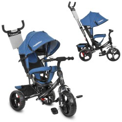 Велосипед Turbo Trike M 3113J-16 Jeans Black