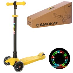 Самокат iTrike Maxi JR 3-073-Y Yellow
