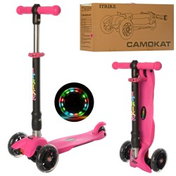 Самокат iTrike Mini BB 3-043-P Pink