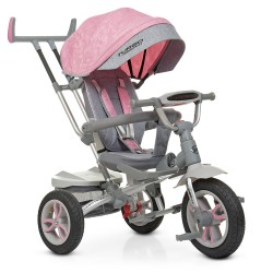 Велосипед Turbo Trike M 4058-15 Grey Pink