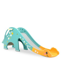 Горка Bambi DINO-4 Yellow/Mint