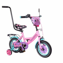 """Велосипед Tilly Monstro 12"""" T-21229/1 Pink / Blue"""
