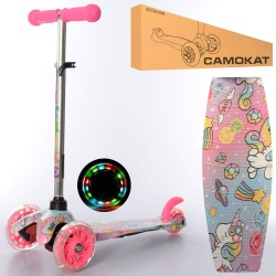 Самокат iTrike Mini BB 3-013-4-F-P1 Pink