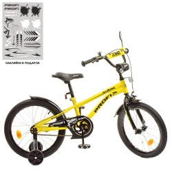 "Велосипед Profi 18"" Shark Y18214 Yellow / Black"
