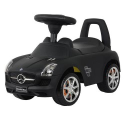Каталка-толокар Bambi Mercedes Z 332S-2 Black