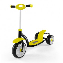 Самокат Milly Mally Crazy Scooter Yellow